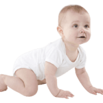 bébé qui rampe