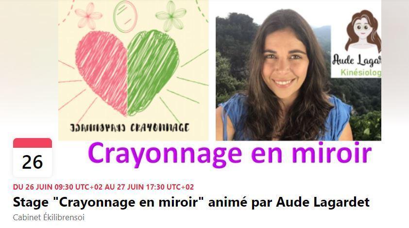 Stage Crayonnage en miroir