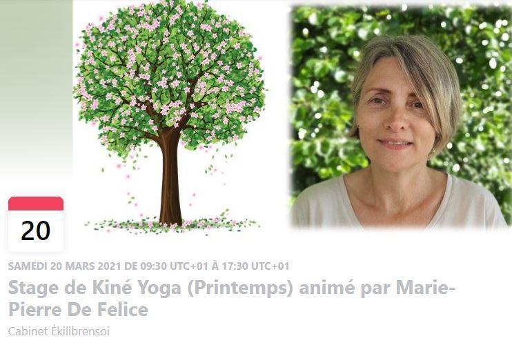 Stage kiné yoga printemps