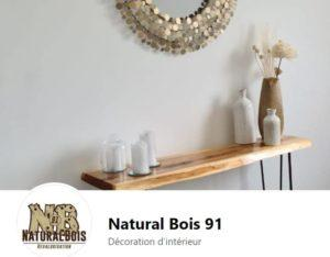 Natural bois
