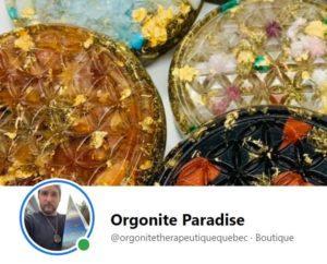 Orgonite paradise